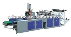 heat sealing&heating cutting bag making machine
