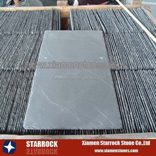 Light grey slate roofing tile
