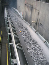 Heat Resistance Conveyor Belt of coal mine