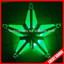 custom new design star indoor hanging paper lanterns