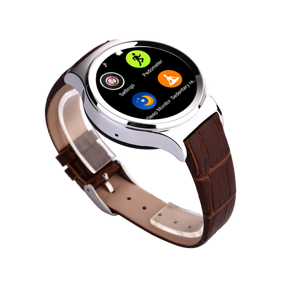 New Style Round Screen Health Care Smart Lady Watch With ...
