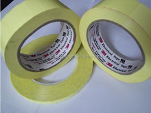 3M Flame Retardant Polyester Film with Acrylic pressure sensitive Adhesive 3M mylar tape 1350F-1 and 1350F-2 yellow
