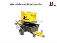 N9 putty mortar platering machine equipment for tunnel construction