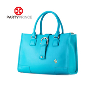 guangzhou fashion partyprince pu leather lady satchel and tote bag