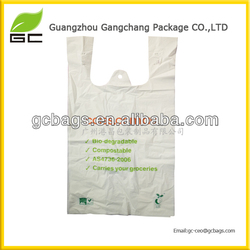 China biodegradable plastic bag raw material