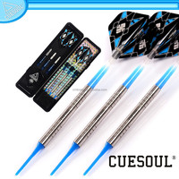 CUESOUL Professional Tungsten Dart Set with safty Soft Tip, elegant design with multi combinations