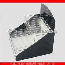 high quality custom design acrylic lip gloss display stand