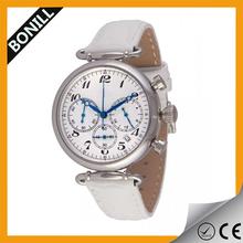 Chinese manufacturer wholesale fashion alloy cheap wrist watch vogue chronograph watch