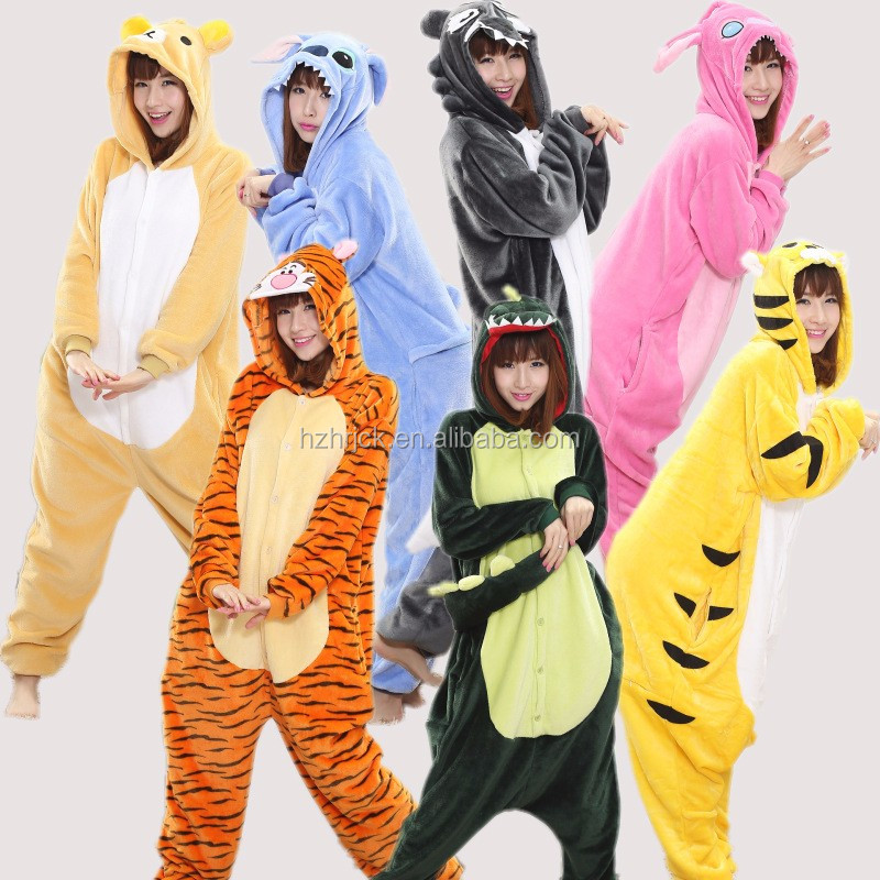 Cosplay Unisexe Pyjamas animaux onesie animal un onesie Adulte animal onesie