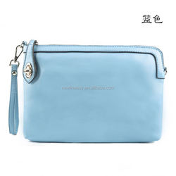 eco friendly cotton turquoise blue fabric shopping bag best quality low price