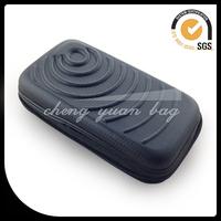 pu leather gear digital camera bag with wrist strap