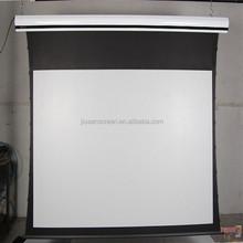 tab tension projector screen floor up