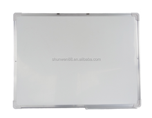 Cost effective dry erase thin writing white board for school and office