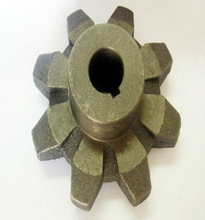 OEM Gray cast iron casting machienry parts,cast iron bell parts