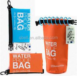 PVC 500D Camping Cloth 1.5L PVC Waterproof Dry Bag