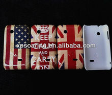 Flag hard case back cover for Sony Xperia tipo st21i