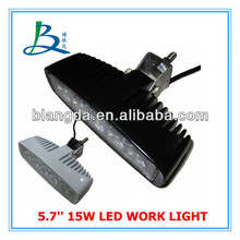 5.7'' 15W work light led,Off road,ATV,SUV,4x4 led work light