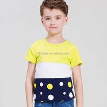 Hot sell fashion kids wholesale tshirt and boys tshirt or t-shirt boys with round neck and low prices