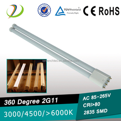360degree 18W LED 2G11 lamp maintenance and replacement costs