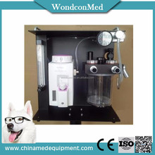 Virtual animal anesthesia machine for medical clinic