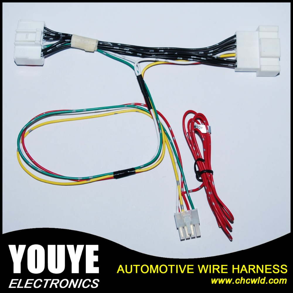 Automotive cable wire harness connector for hyundai