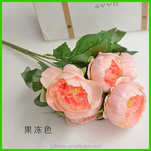 Fashion hot selling l peony home decoration
