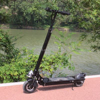 the lightest foldable electric 100cc moped with front and rear shock