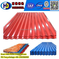 wave coated corrugated steel sheet metal/roofing sheet--China gold supplier