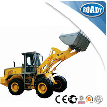 Excellent performance nergy-saving small wheel loader with backhoe