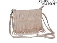 2015 Brand Designer Women Fringe PU Cross Body Bag