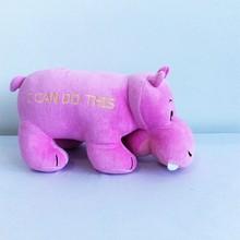 cartoon big animal stuffed rhinoceros