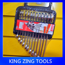 COMBINATION WRENCH SET_ OPEN AND RING END