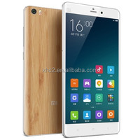 wholesale Quad Core 2.5GHz 5.7 inch MIUI 6 Xiaomi Mi Note 4G Smart Mobile Phone with Bamboo back cover