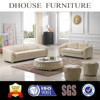 Dhouse new classic furniture white leather sofa sets AL182