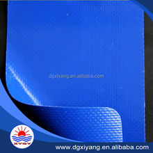 PVC coated tarpaulin woven polyester fabric for truck cover tent