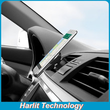 Mini Rotating Magnetic Wind Vent Mount Holder Smart Phone Mount Holder Magnetic Cell Phone Mount