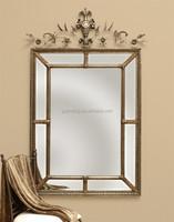 Antique royal craft square decorative wall mirror