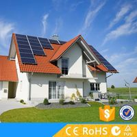 Energy saving off grid 500w solar dc power systems for rural area
