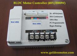 48V 2000W brushless hub motor controller