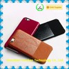 For iPhone Leather Case Hybrid Style Microfiber Inside, leather case for iPhone 6