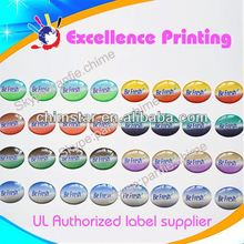 high quality self adhesive colorful epoxy dome stickers for scrapbooking
