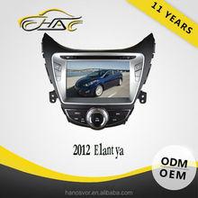 for hyundai elantra double din car dvd player Car GPS Multimedia Navigator Radio System With Bluetooth USB SD