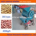 350 pequeños desgranadora de maní con motor diesel