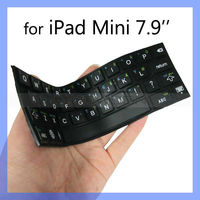 Nice Touch Stick-On Silicone Keyboard for iPad Mini Keyboard