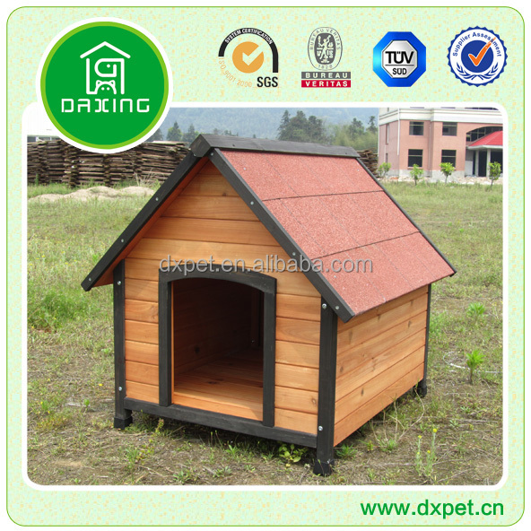 Outdoor Wood Dog Kennel DXDH011
