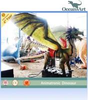 cheap mechanical life size dragon