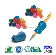 New fashion pensil/pen silicone holder/silicone pencil grip for student