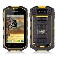 4 Inch GSM WCDMA 2 SIM waterproof dual core rugged Android Mobile Phone