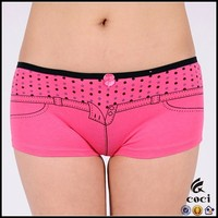 CCU028 women's boxer panty pictures of boxer for women