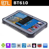 IP65 quad core 3G for windows 8 2+32GB Cruiser BT610 pda with windows pda